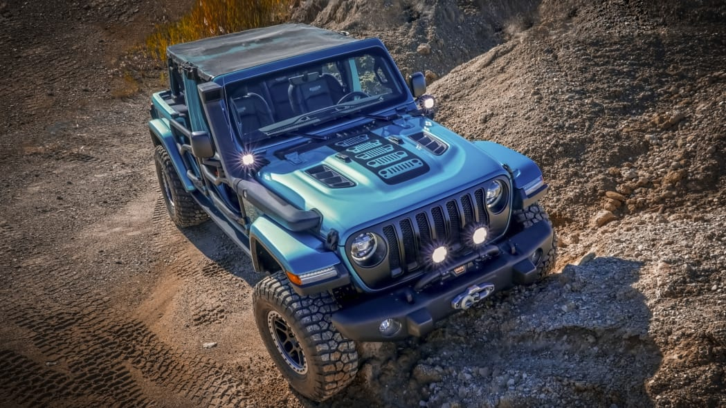2020 Jeep Wrangler Unlimited with Mopar parts