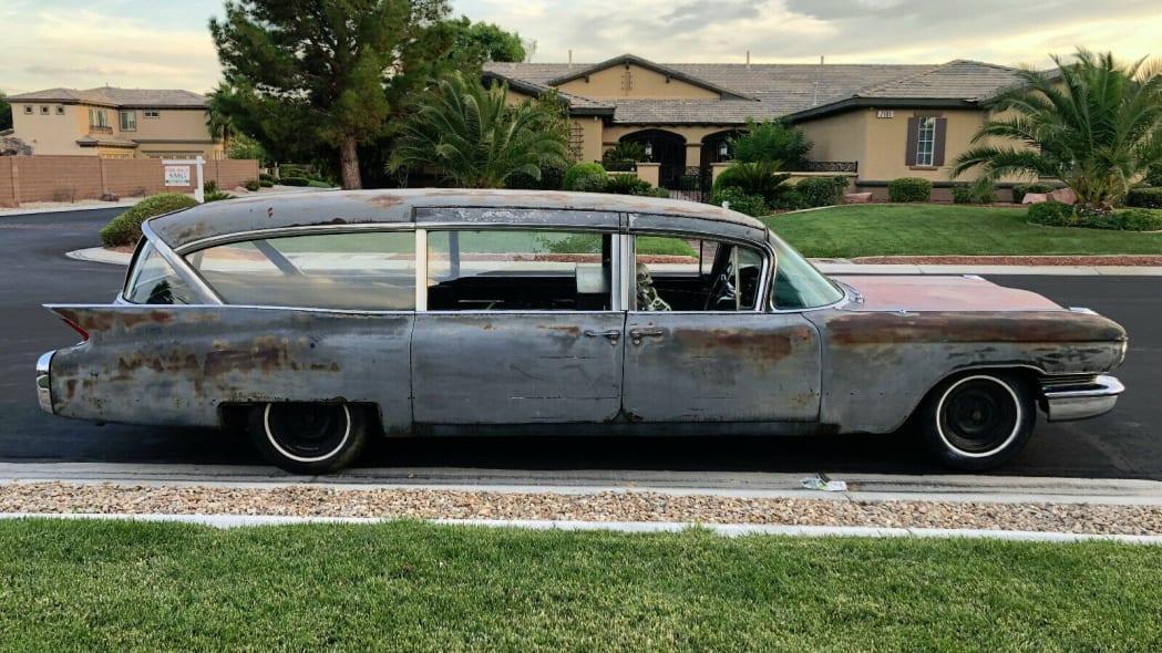 1960 hearse