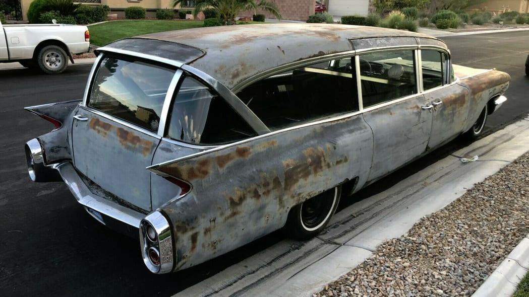 1960 hearse, RR
