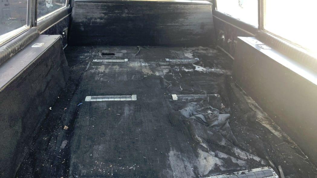 hearse rear compartment