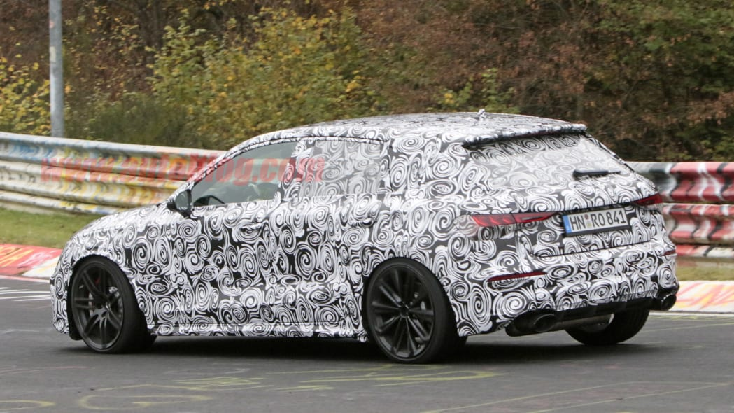 2021 Audi RS 3 prototype