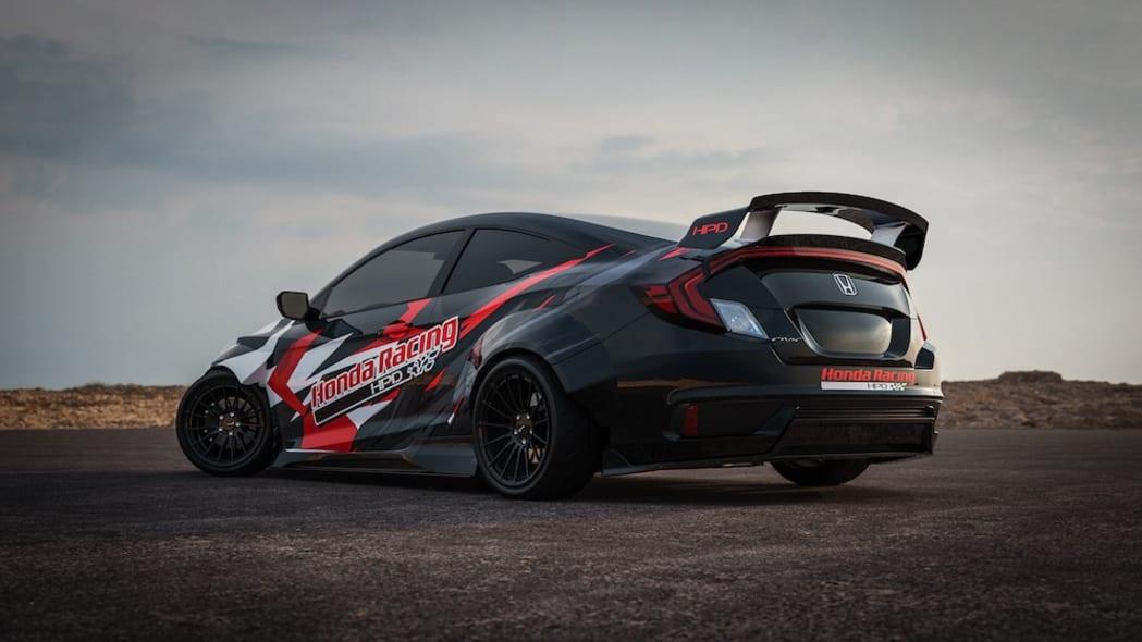 24 - Honda Civic Si Drift Car for 2019 SEMA Show