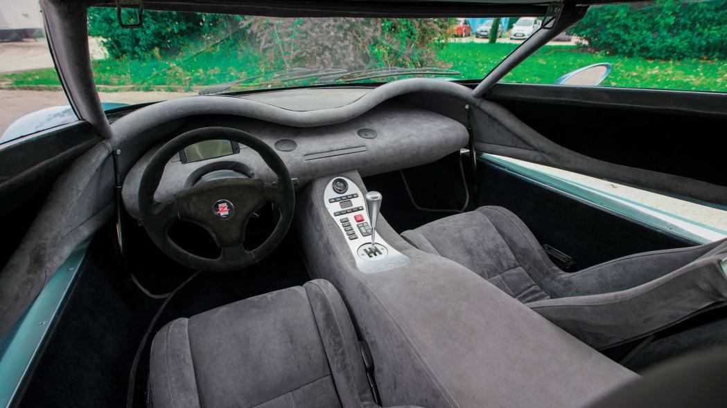 1996 Zagato Raptor concept supercar1996 Zagato Raptor concept supercar