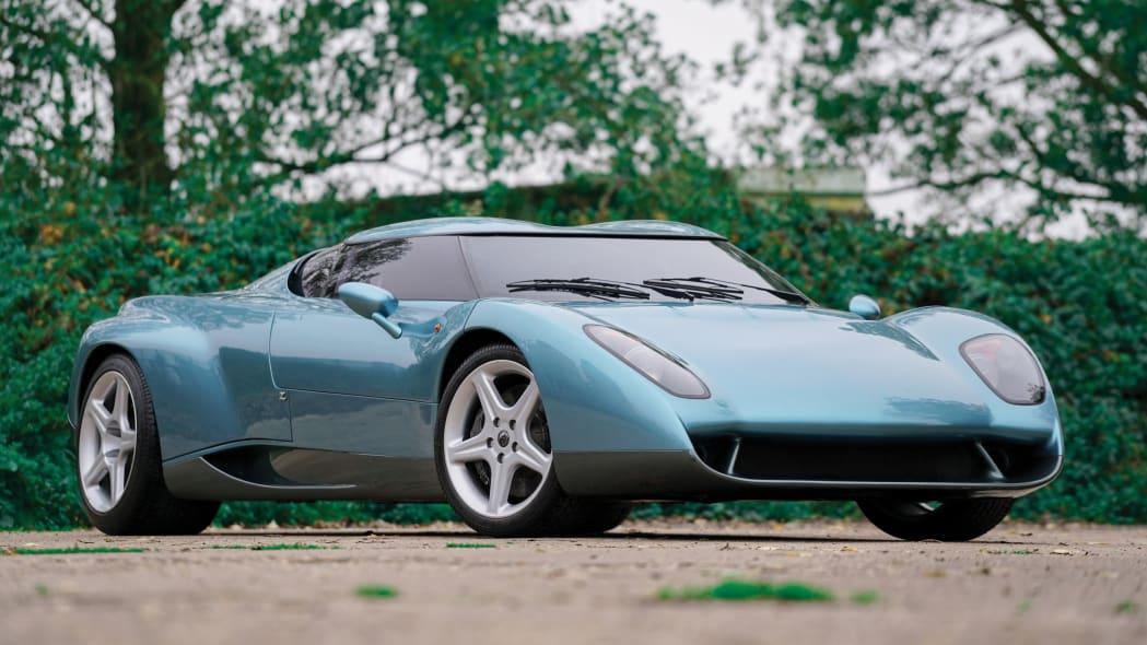 1996 Zagato Raptor concept is a lighter Lamborghini Diablo VT and is up for sale