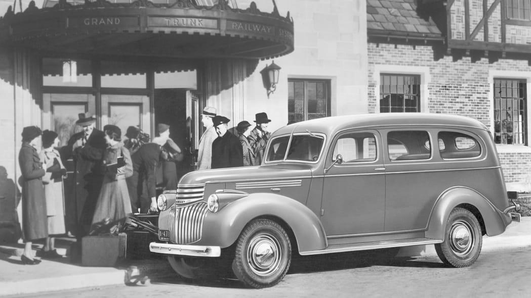 1937 Chevy Suburban