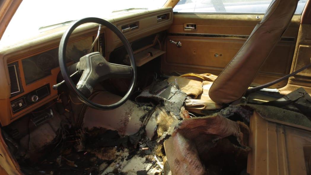 02 - 1978 Chevrolet Nova in California junkyard - photo by Murilee Martin