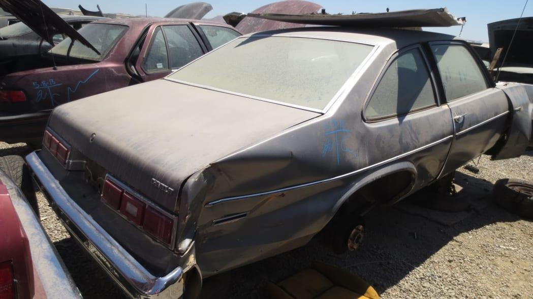 09 - 1978 Chevrolet Nova in California junkyard - photo by Murilee Martin