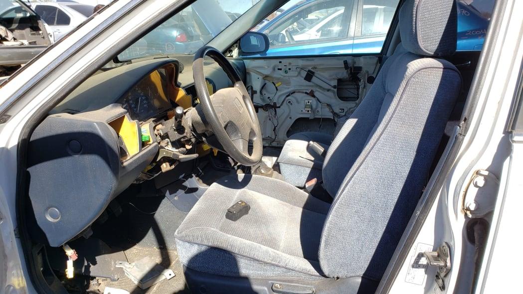 03 - 1992 Honda Accord wagon in Colorado junkyard - photo by Murilee Martin