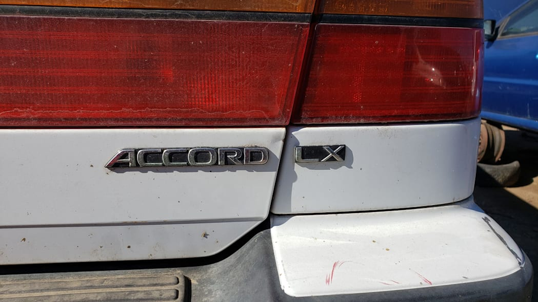 16 - 1992 Honda Accord wagon in Colorado junkyard - photo by Murilee Martin