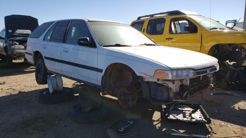 26 - 1992 Honda Accord wagon in Colorado junkyard - photo by Murilee Martin