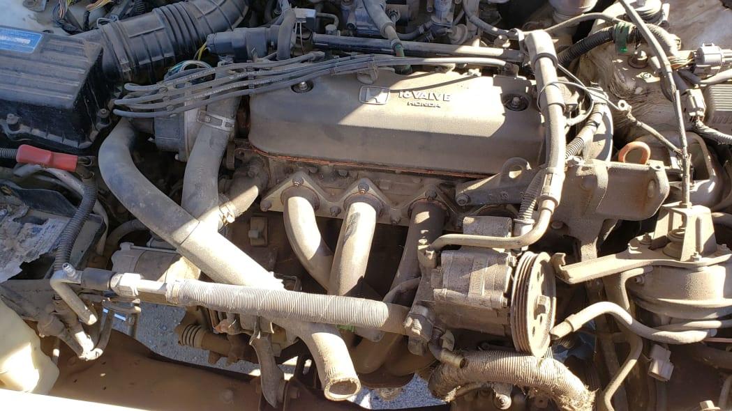 35 - 1992 Honda Accord wagon in Colorado junkyard - photo by Murilee Martin
