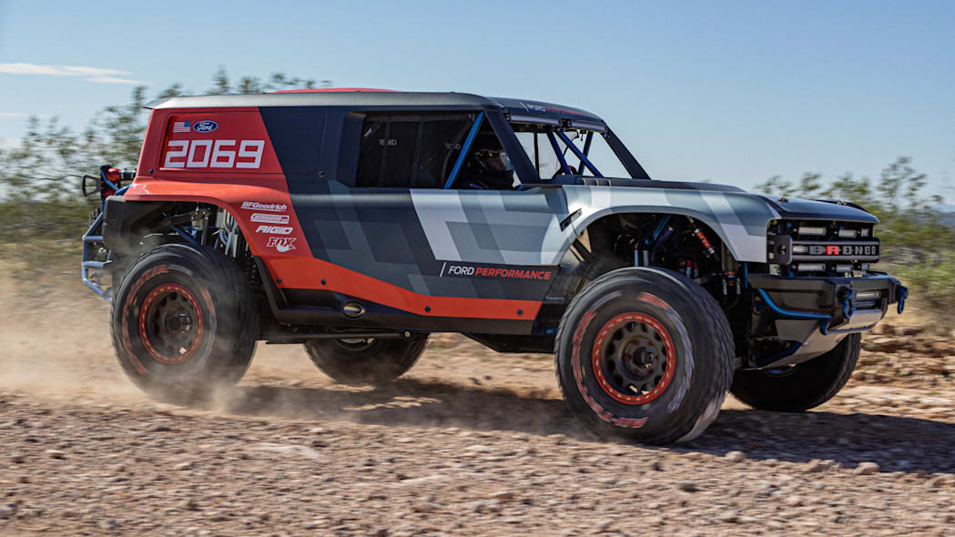 More Details Revealed With Race Version Bronco At Baja 1000