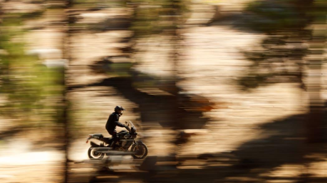 Harley-Davidson Pan America adventure touring motorcycle prototype