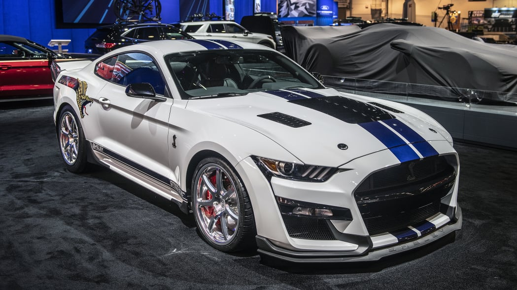 Shelby brings Dragon Snake GT500, Super Snake F-150 truck to SEMA