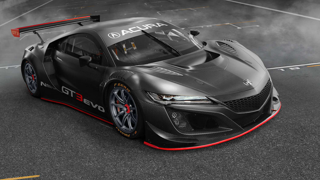 NSX GT3 Evo To Compete Globally in 2019