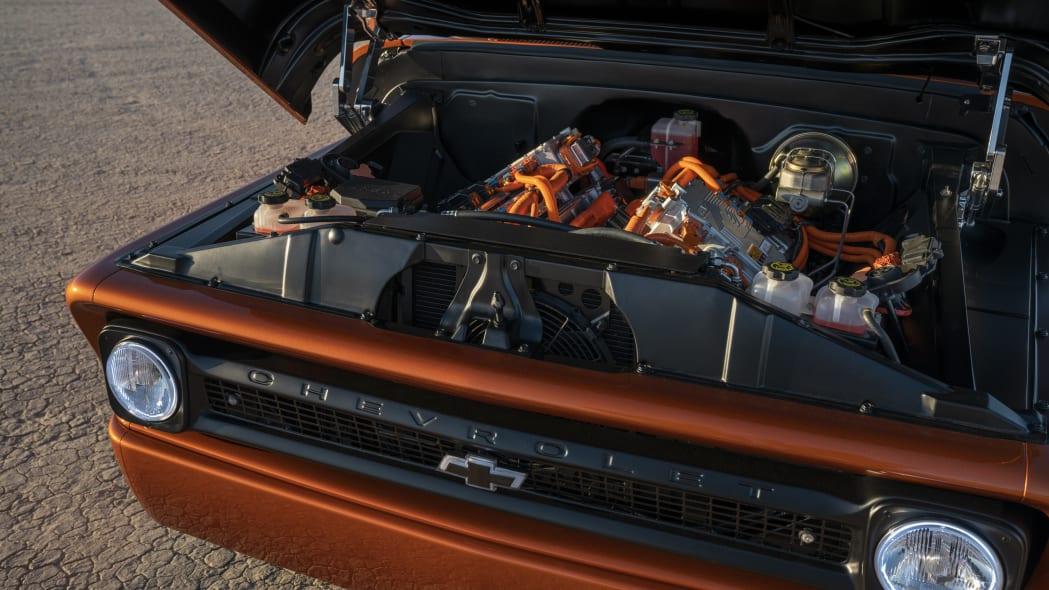 Chevrolet's E-10 Concept Electrifies Hot Rodding World