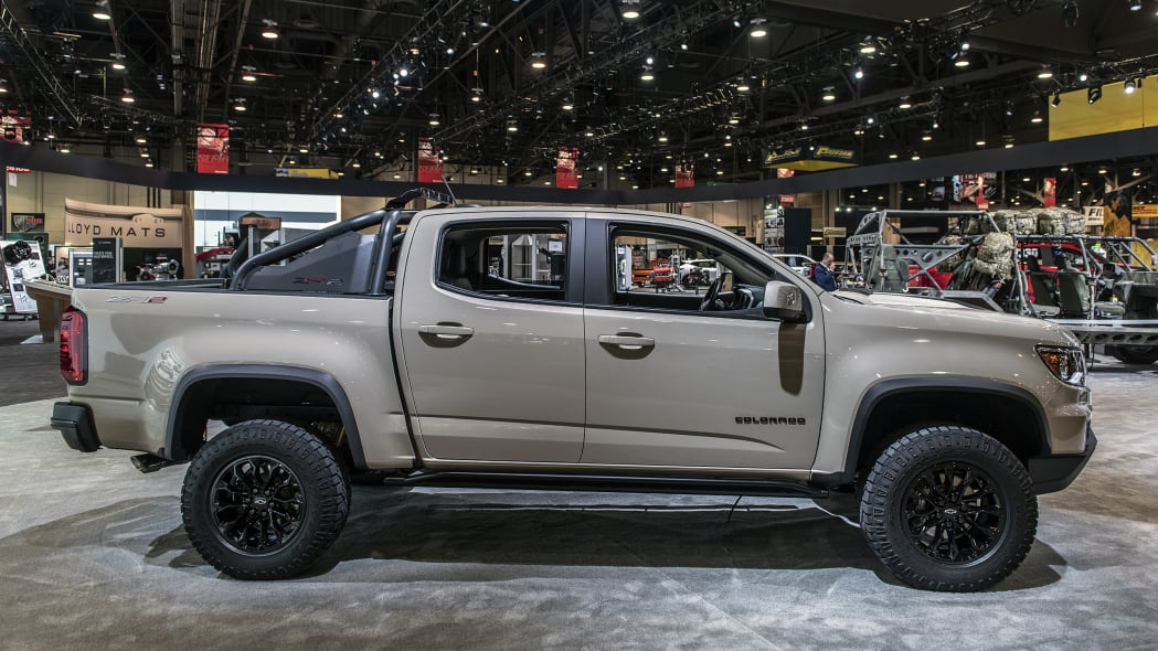2021 Chevrolet Colorado ZR2 Dusk Edition: SEMA 2019 Photo ...