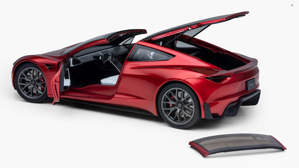 2020 Tesla Roadster 2.0 Die-Cast Model