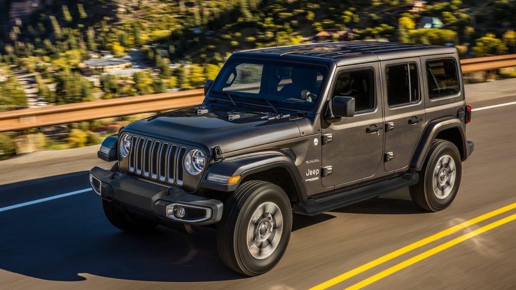 Number 1: Jeep Wrangler Unlimited