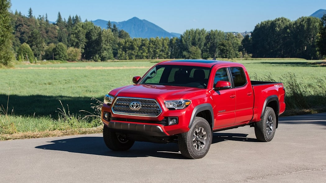 Number 3: Toyota Tacoma