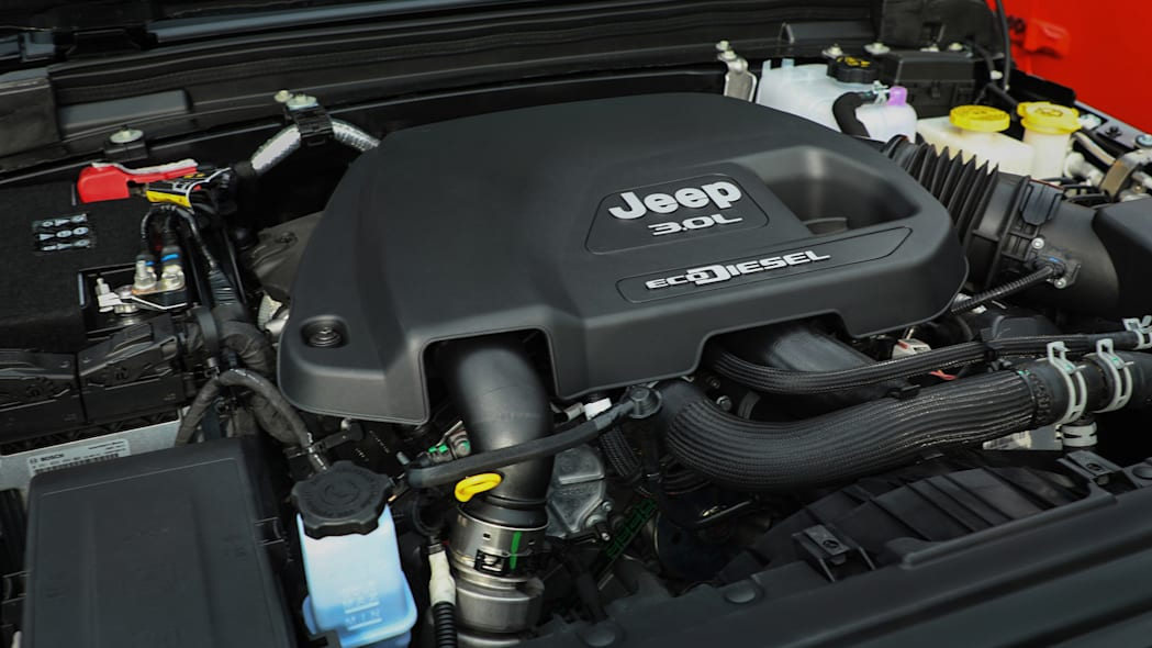 2020 Jeep® Wrangler with EcoDiesel V-6