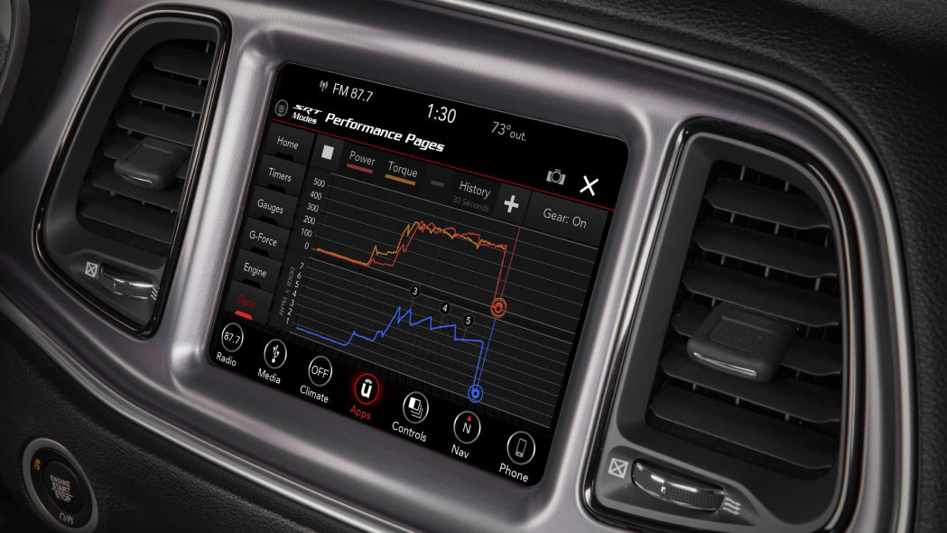 2020 Dodge Challenger R/T Scat Pack Widebody - interior