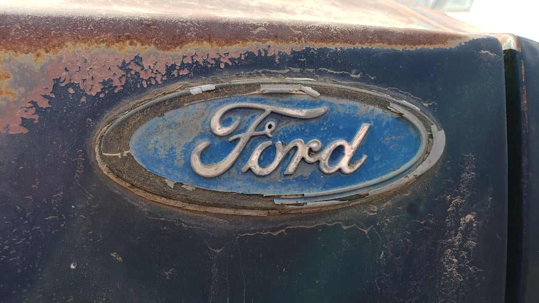34 - 1986 Ford Escort Pony in Colorado junkyard - photo by Murilee Martin