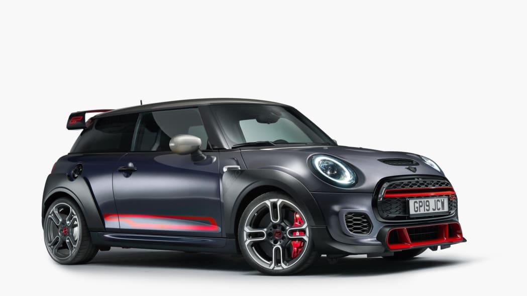 The 2020 Mini John Cooper Works GP is overwrought and automatic