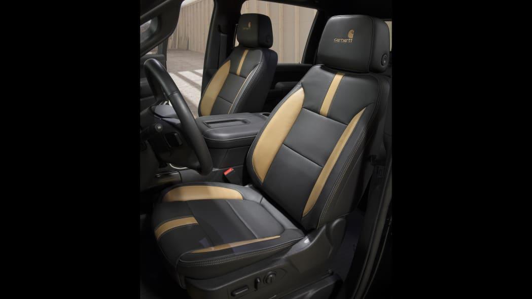 Chevrolet Silverado Carhartt Interior