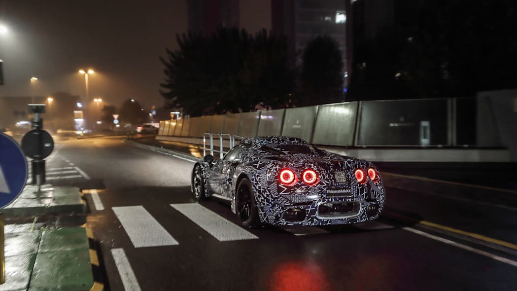2020 - [Maserati] MC20 Maserati-sports-car-spy-shots3