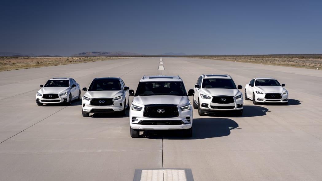 INFINITI Edition 30 vehicles