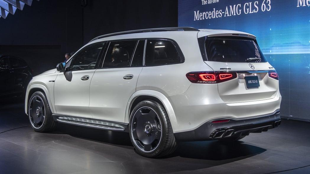 2021 Mercedes-AMG GLS 63: LA 2019 Photo Gallery | Autoblog