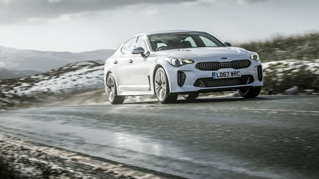 UK-Spec Kia Stinger GT-Line