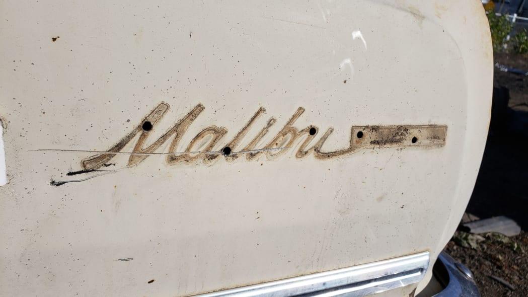 02 - 1965 Chevrolet Malibu in Colorado junkyard - photo by Murilee Martin