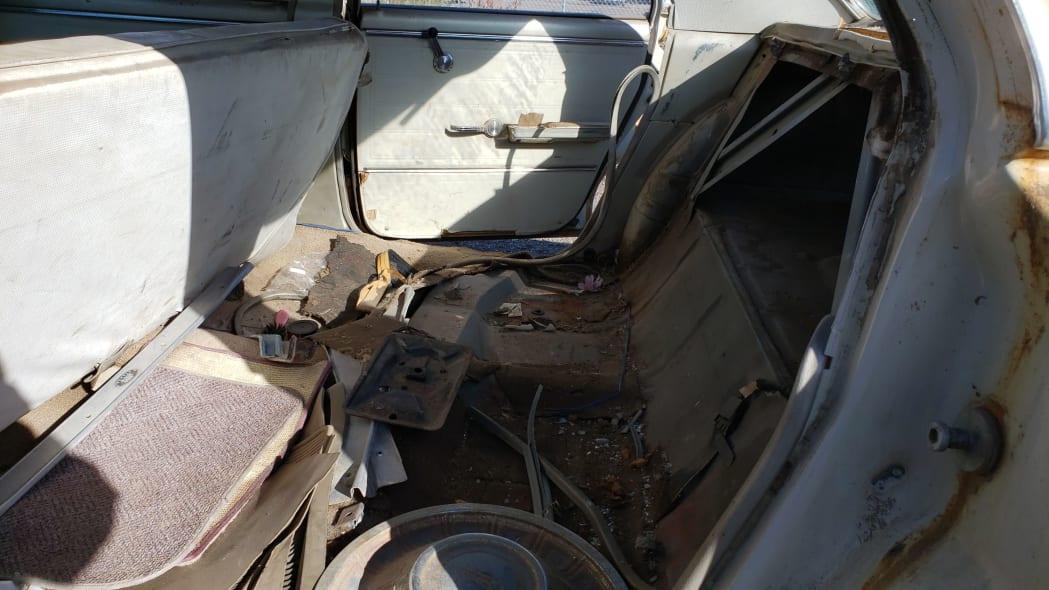 03 - 1965 Chevrolet Malibu in Colorado junkyard - photo by Murilee Martin