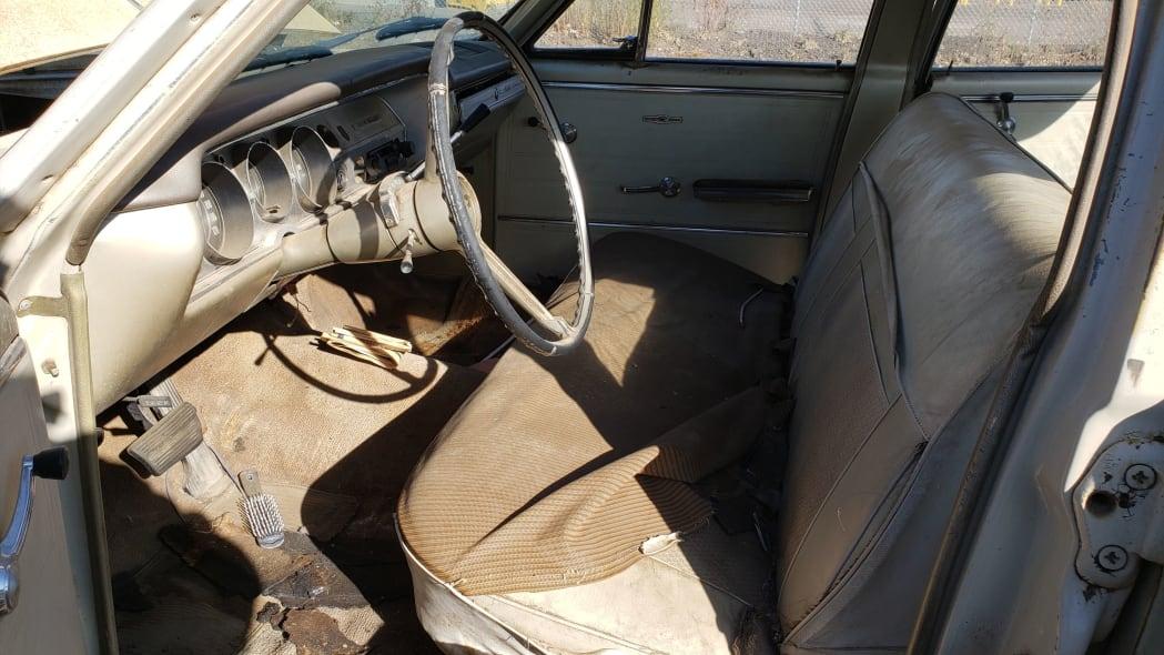 07 - 1965 Chevrolet Malibu in Colorado junkyard - photo by Murilee Martin