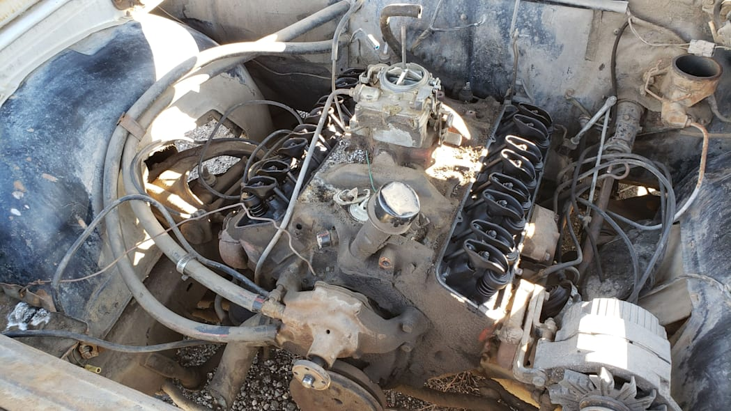 33 - 1965 Chevrolet Malibu in Colorado junkyard - photo by Murilee Martin