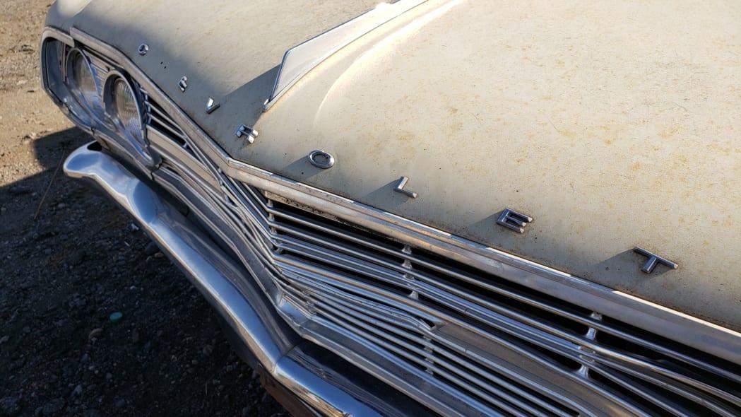38 - 1965 Chevrolet Malibu in Colorado junkyard - photo by Murilee Martin