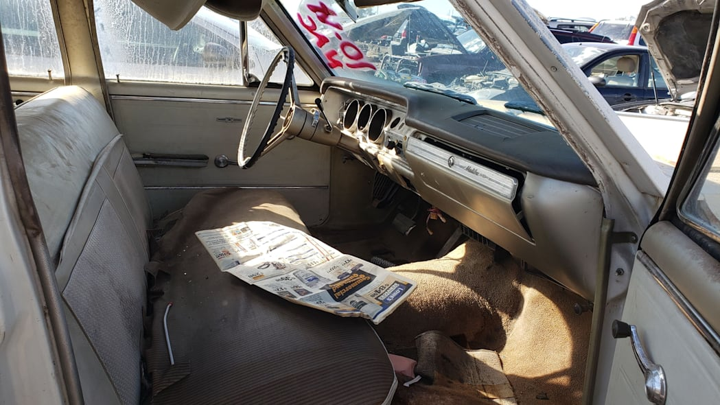 50 - 1965 Chevrolet Malibu in Colorado junkyard - photo by Murilee Martin