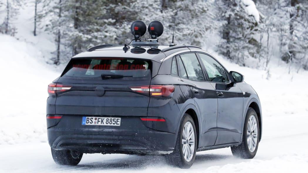 Volkswagen ID4.X Spy Shots