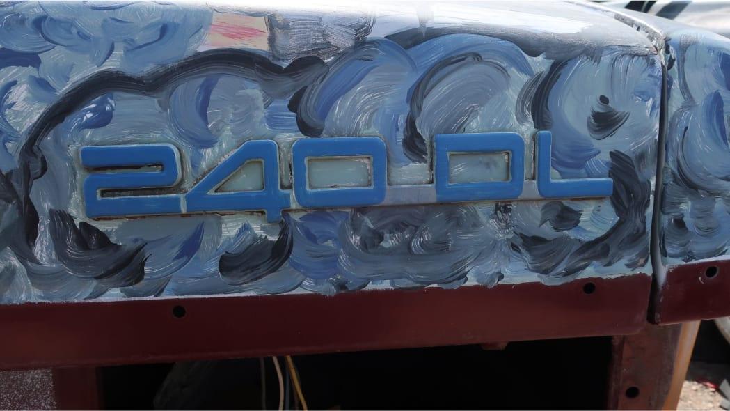 43 - 1990 Volvo 240 DL sedan in Colorado junkyard - photo by Murilee Martin