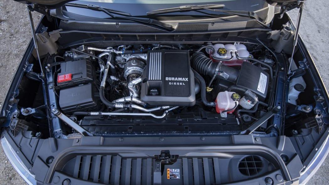 The Chevrolet Silverado's all-new 3.0L Duramax inline-six turb