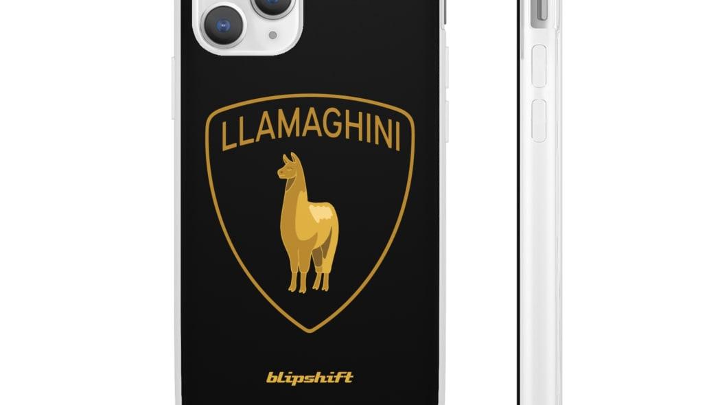 llamaghini-phone-case