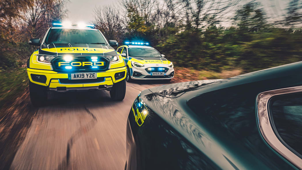 FAST AND FURIOUS FORD COP CARS BREAK COVER