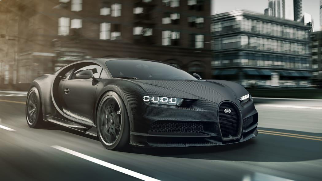 Special Edition Bugatti Chiron Noire