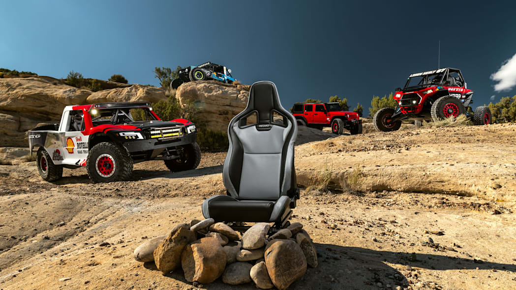 Recaro goes further off-road with weekend warrior and dirt-track race seats