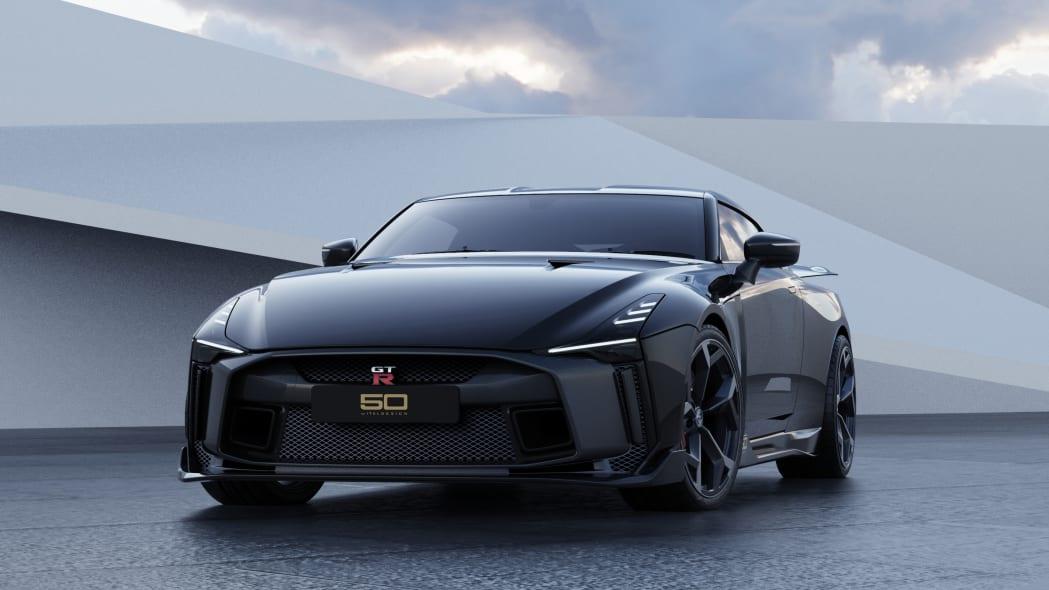 Nissan GT-R50 by Italdesign production rendering Black FR