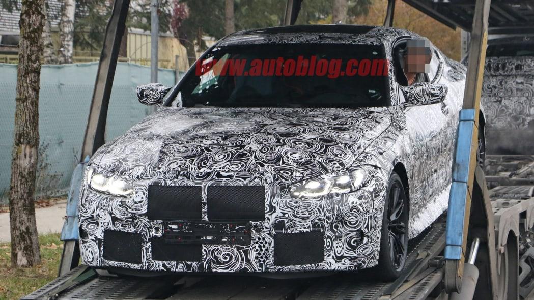 BMW M4 Coupe spy shots 02