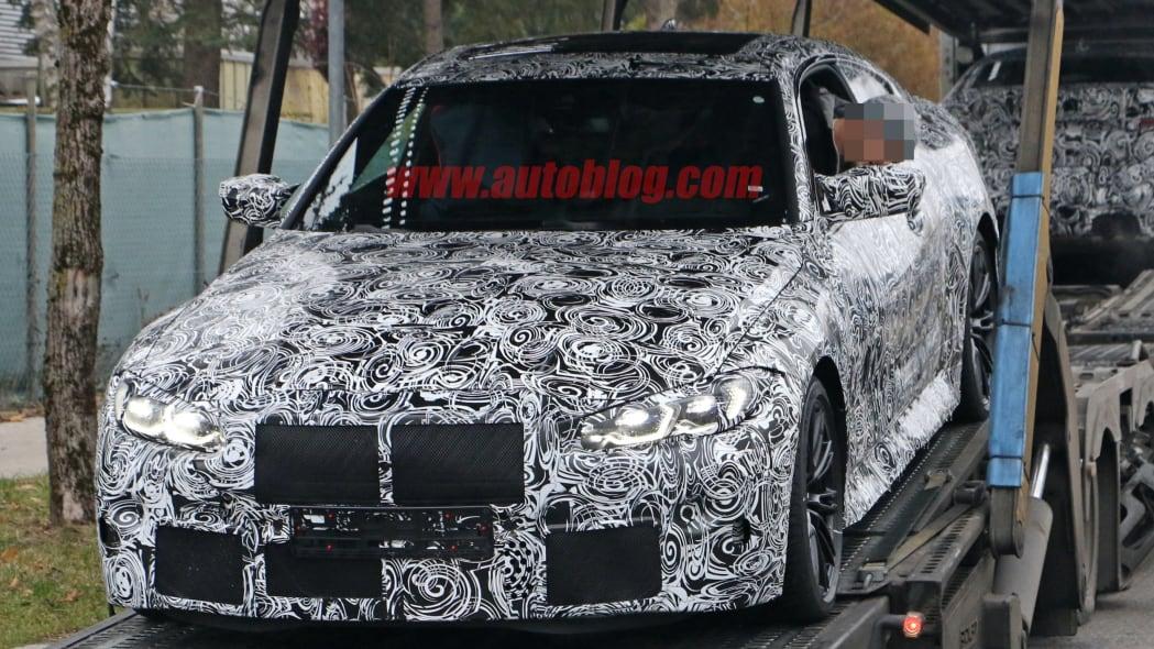 BMW M4 Coupe spy shots 03