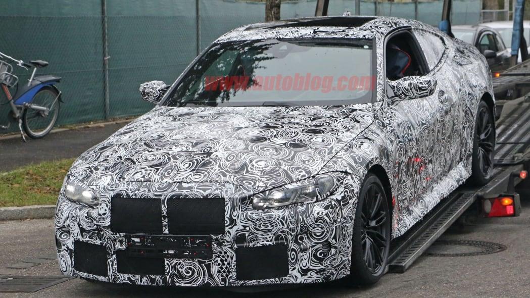 BMW M4 Coupe spy shots 05